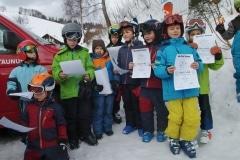 Siegerehrung beim Taunus-Pokalrennen 2019, Kinder U8 m