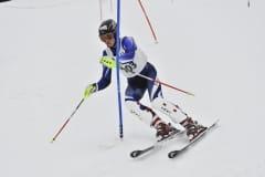 Simion Kemmer bei den NOW-Schülermeisterschaften im Slalom in Todtnauberg.