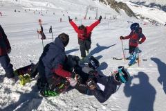"""Trainingswoche Faschingsferien 2019 am Kitzsteinhorn in Kaprun.  """"Ein bisschen Spaß muss sein"""""""