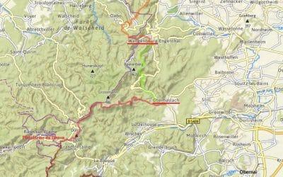 Tourengruppe: Wanderungen auf der GR 5 von Saverne nach Barr