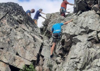 Bewegen im Fels