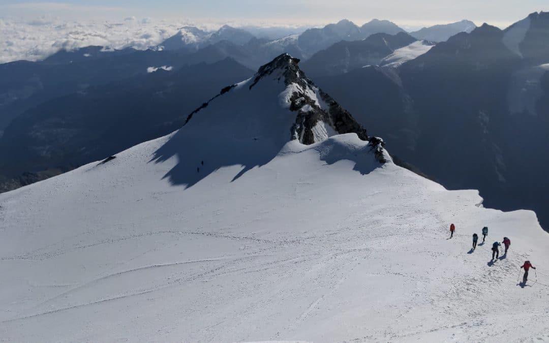 Bericht: Hochtouren im Wallis mit Bishorn Besteigung