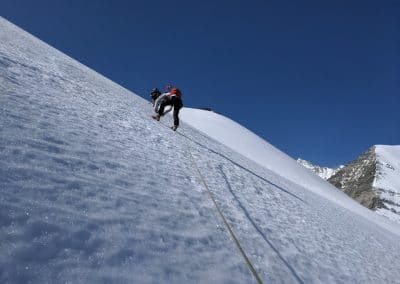 Bergauf